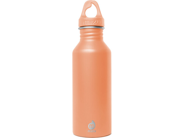 MIZU M5 Bottle with Peach Loop Cap 500ml enduro peach